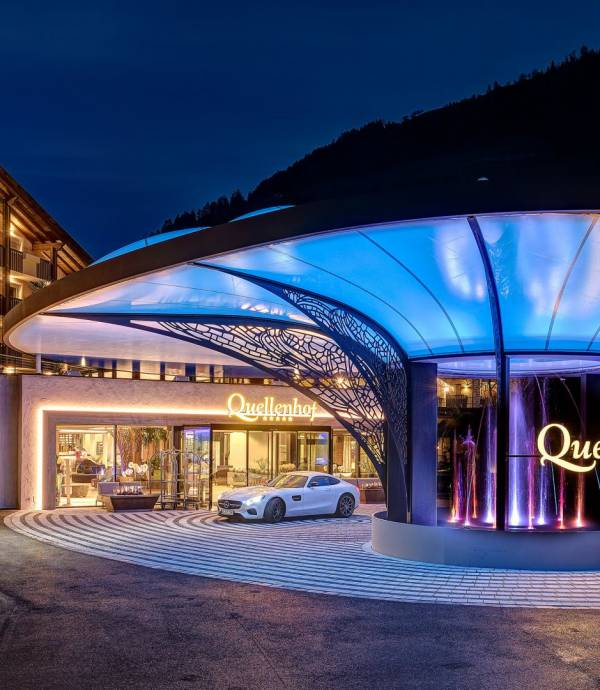 The Luxury Resort in the Alps
